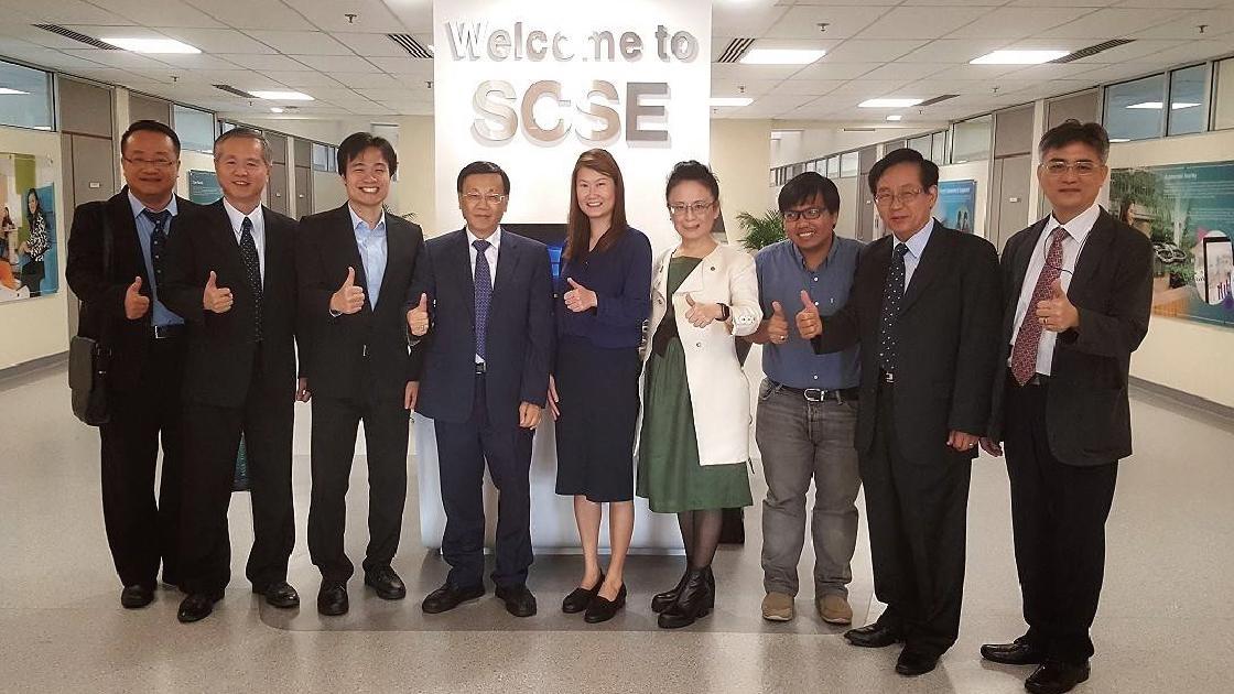 亞大與新加坡南洋理工大學建立合作,共同邁向人工智慧之路!