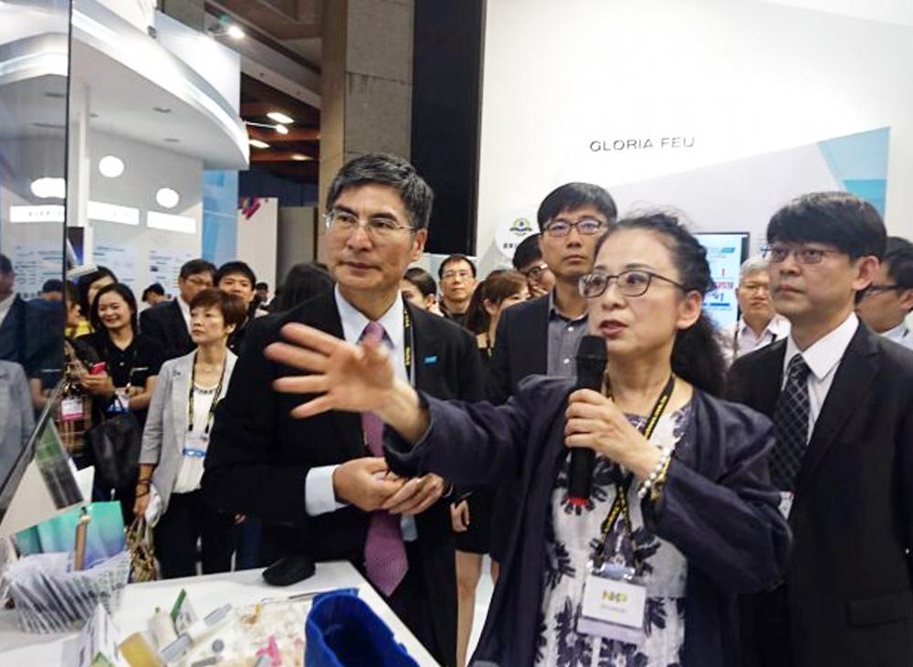 亞洲大學國際產學聯盟迎接人工智慧與區塊鏈熱潮,「3D醫療列印技術」與「慈善募資區塊鏈技術」於2018 COMPUTEX登場